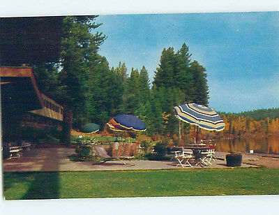 Unused Pre-1980 LODGE SCENE Mccall Idaho ID J6791