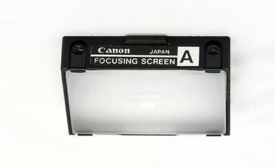 Canon Focusing Screen A  Microprism for F1 Mechanical Camera