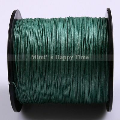500M PE Fishing Line Agepoch Dyneema Spectra Braid LINE Strong Sea Moss Green