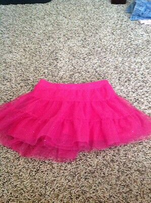 Girls Sonoma Hot Pink Tulle Skirt 2T 3T