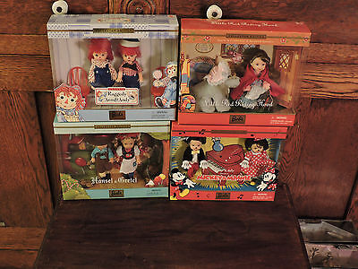 Mib Lot Of 4 Storybook Favorites Tommy And Kelly Barbie Dolls Set