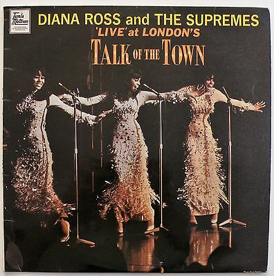 DIANA ROSS & THE SUPREMES 'Live' At London's Talk Of The Town - TML 11070 LP