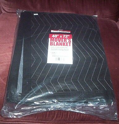 "HaulMaster 40"" x 72"" Moving Blanket - New in Pkg by Haul Master & Harbor Freight"