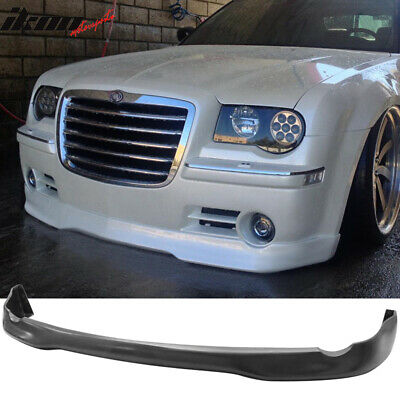 05-10 Chrysler 300 300C ED VIP Style Front Bumper Lip Chin Spoiler - Urethane PU