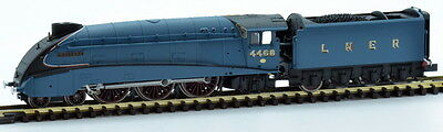 Dapol N Gauge Locomotive Lner A4 Steam Loco Valanced Mallard #4468 Da2S008008