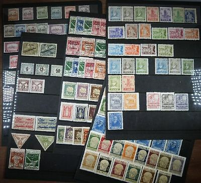 Unused collection Free state of Fiume 1918-1924
