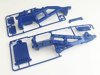 Tamiya 9005349/0005414 Bush Devil (58101) A Parts Blue Chassis/Frame (NEW) (NIP)