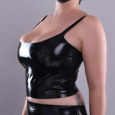 Cropped Vest / Tank Top | The Essential Collection | Latex Rubber Gummi