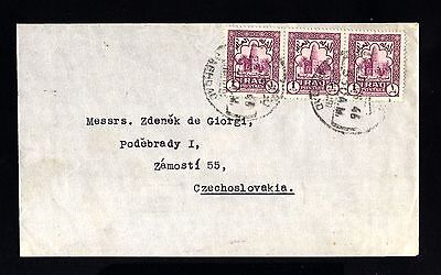 15468-IRAQ-OLD COVER BAGHDAD to ZAMOSTI (czechoslovakia).1946.WWII.British.IRAK