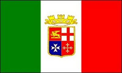 3x5 Italy Naval Ensign Flag Italian Navy Banner Royal Pennant Indoor Outdoor New