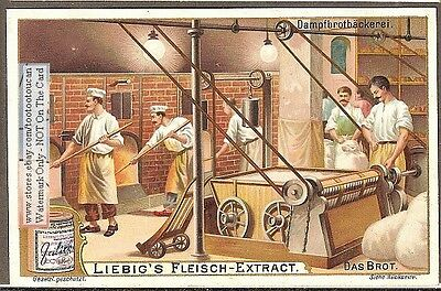 Turn-Of-The-Century Bread Baking Ovens c1902 Trade  Ad  Card