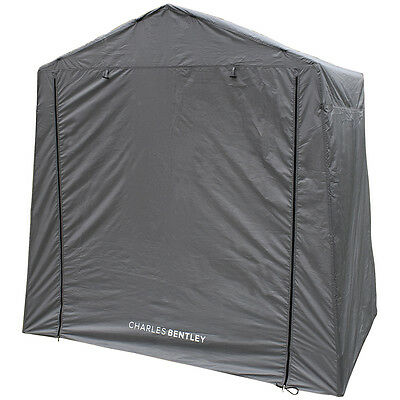Charles Bentley Camping Text Extension Shelter Porch Canopy Awning - Grey