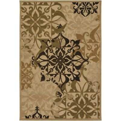 Couristan Urbane Gatesby Sand & Ivory In/Out Rug