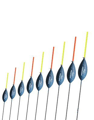 POLE FLOATS - Mochkov 16-72 - different SIZES and LOTS - in new TACKLE BOX