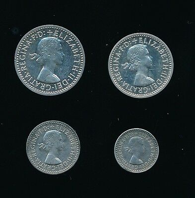 1963 Elizabeth II MAUNDY SET...SUPERB....UK Seller - Fast Post