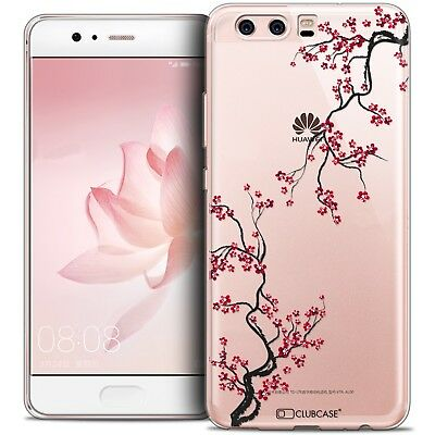 Coque Crystal Gel Huawei P10 Extra Fine Souple Summer Sakura