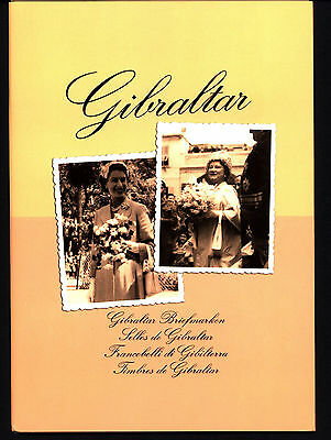 Gibraltar 1996 Year Il Booklet Official Postal Worker New C40
