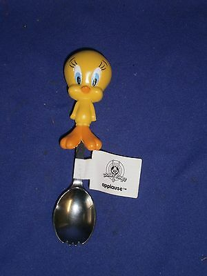 Vintage Looney Tunes Tweety Bird Spork by Applause 5½in 1998