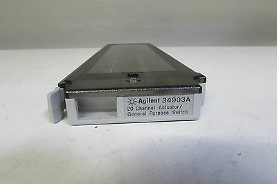 Agilent HP 34903A 20-Channel Actuator/General Purpose Switch for 34970A