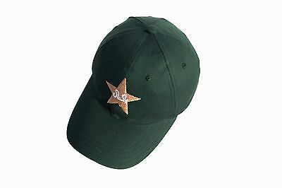 High Quality Cricket Baseball Style Cap With Pakistan Logo Adults Adjustable