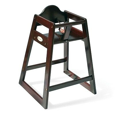 Foundations Classic Wood High Chair - Antique Cherry Finish