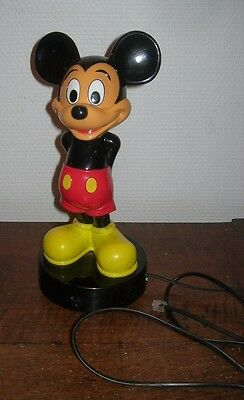 Telephone Phone Mickey Mouse Disney Vintage 1988