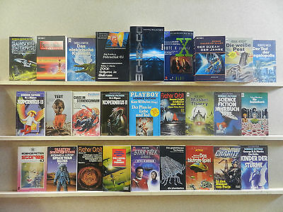 54 Science Fiction Romane SF Sammlung Büchersammlung Bücherpaket Nr. 316