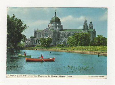 Cathedral Of Our Lady & St Nicholas Galway Ireland Postcard 911a