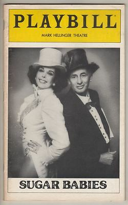 """Sugar Babies""  Playbill  1981   Joey Bishop  &  Ann Miller"