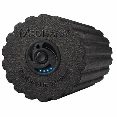 Medisana Vibrating Massage Roller Train 15x31 cm Foam Black PowerRoll PRO 79466