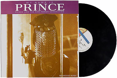 """PRINCE 12"""" My Name Is Prince GERMAN3 Track UNPLAYED ! 2 Whom It May Concern NEW"""