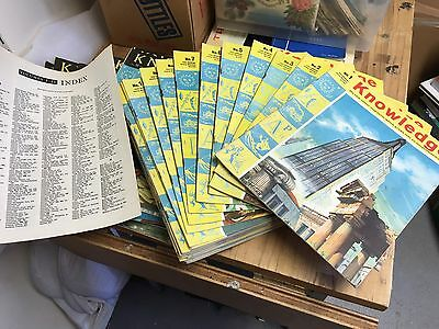 Knowledge Magazine - 43 Copies - Nos 1 to 30 consecutive + others - 1961