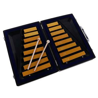 16 Keys Glockenspiel Xylophone Case Baby Kids Music Learning Toy Percussion