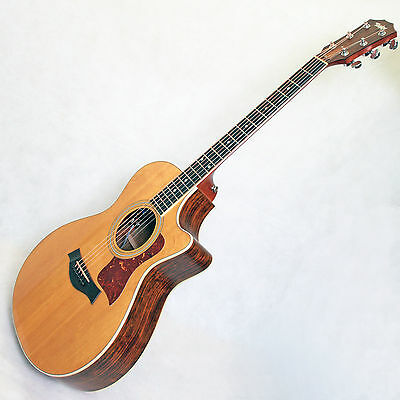Used 2002 Taylor 412-Ce Electro Acoustic Guitar With Hard Shell Case
