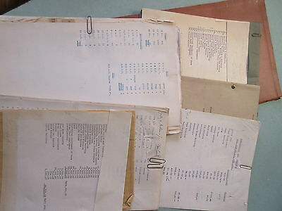 Several Pages Files 1923 Pictou County Electric Co Power Plant