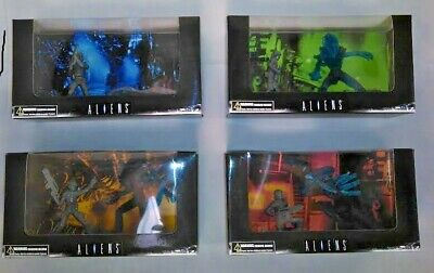 All 4 Alien figure sets Treehouse Kids