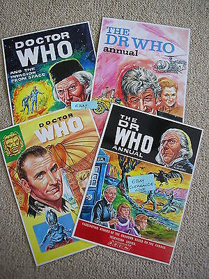 4 Photo Art Cards Dr Doctor Who - LARGE SIZE A4 - CLEARANCE Only £3.99 POSTFREE