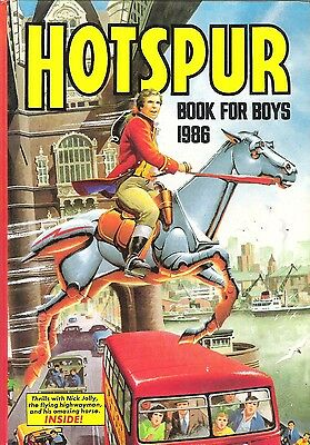 The Hotspur Book For Boys Annual 1986 [N/mint Con]