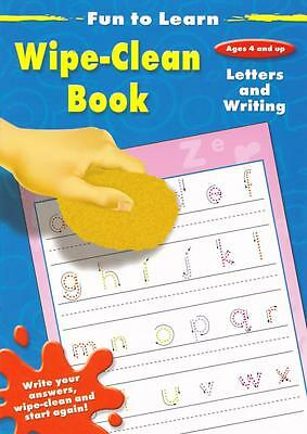 Early Learning Pre-school Learn Letters and Writing wipe-clean book from age 4