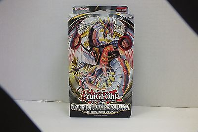 Yu-Gi-Oh Cyber Dragon Revolution Structure Deck 1st Edition SEALED NEW