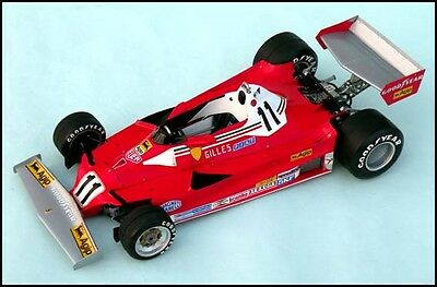1/12 FERRARI 312T2 F1  '77 VACU FORM TRANS KIT from Japan
