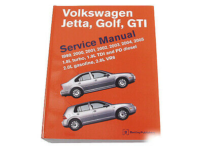 volkswagen golf 2001 repair service manual
