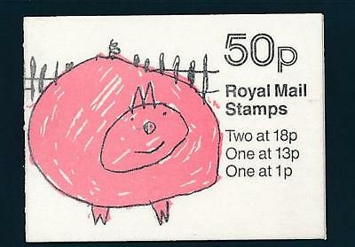 Gb Decimal Bklt Missing Phosphor  Children's Drawings Fb 47 Cat £110