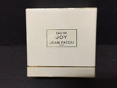Vintage Sealed Eau De Joy Hean Patou Paris  1203 Perfume