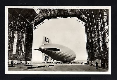 16028-GERMAN EMPIRE-POSTCARD GRAF ZEPPELIN AIRSHIP.Luftschiff.DEUTSCHES REICH.