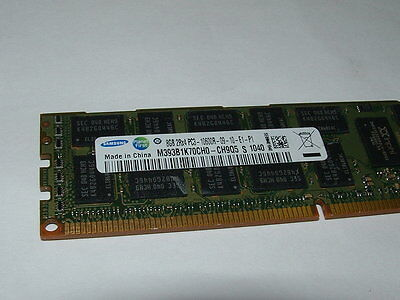 64GB (8x 8GB) PC3L-10600R DDR3-1333MHz ECC Reg Server Memory RAM