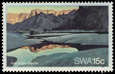 """SOUTH-WEST AFRICA 472 (SG374) - Landscapes """"Fish River Canyon"""" (pa83344)"""