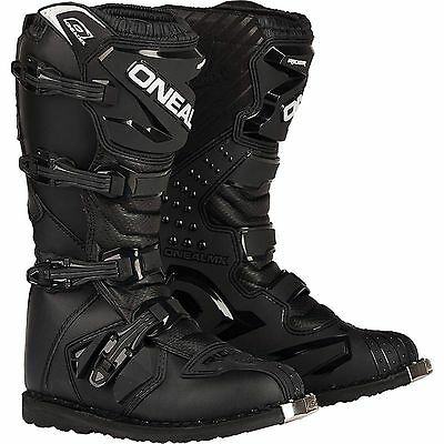 New tags oneal rider motorbike offroad boots black mens 7 8 9 10 11 12 13