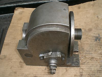 "Tabata 10"" dividing head 1 1/2 - 8 spindle  missing parts"