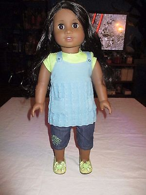 Sonali American Girl  Doll of the Year- Meet Outfit Excellent Condition